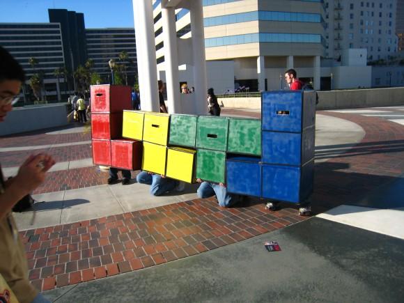 Tetris humano